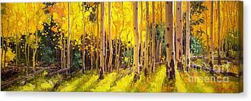 The Light Scene Canvas Prints