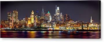 City Scene Canvas Prints
