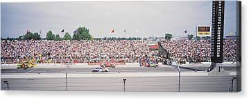 Indy Car Photographs Canvas Prints