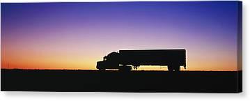 Semi Truck Canvas Prints