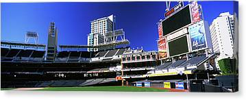 San Diego California Baseball Stadiums Canvas Prints