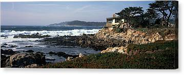 Buildings By The Sea Canvas Prints