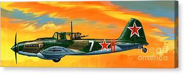 Ilyushin Canvas Prints