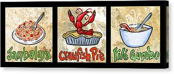 Jambalaya Canvas Prints