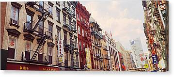 Mott Street Canvas Prints