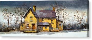 Stone House Canvas Prints
