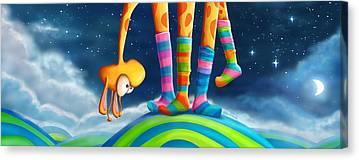 Colorful Sky Digital Art Canvas Prints