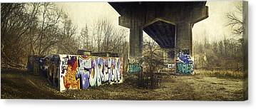 Overpass Canvas Prints