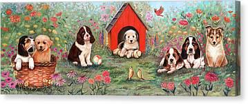 Doghouse Canvas Prints
