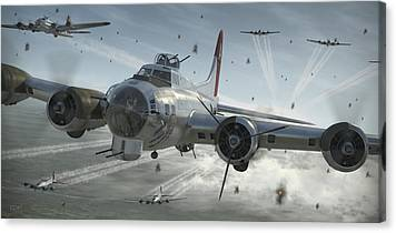 B-17 Canvas Prints