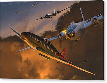 B-61 Canvas Prints