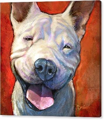 Bull Dogs Canvas Prints