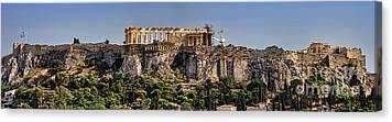 Akropolis Canvas Prints