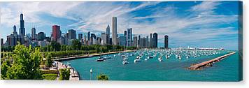Chicago Skyline Canvas Prints