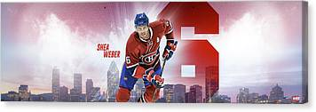 Shea Weber Canvas Prints