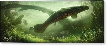 Amazon River Canvas Prints