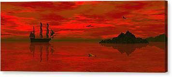 Windjammer Canvas Prints