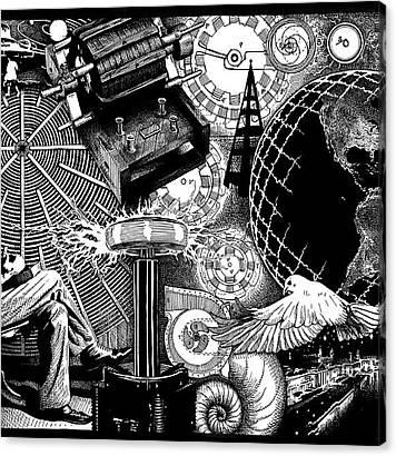 Pigeon Canvas Prints