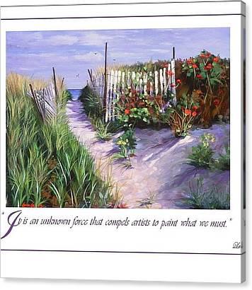 Seashore Quote Canvas Prints