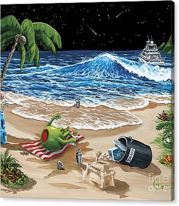 Sand Castle Canvas Prints