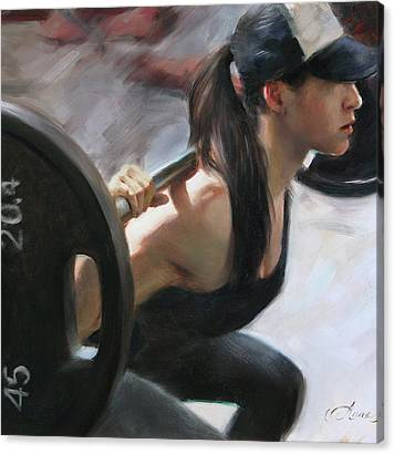 Weightlifting Canvas Prints
