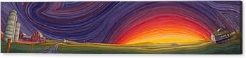 Prairie Art Canvas Prints