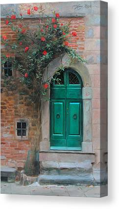 Facade Paintings Canvas Prints