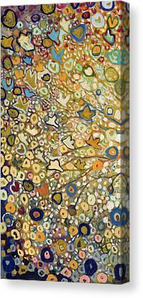 Gold Canvas Prints