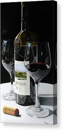 Maryland Wine Canvas Prints