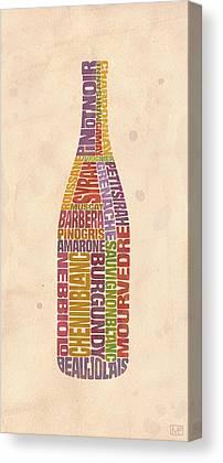 Winery Digital Art Canvas Prints