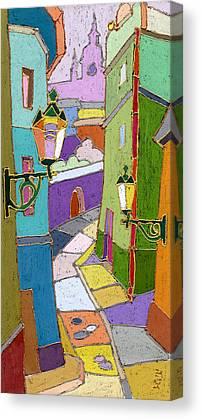 Pastel Colors Canvas Prints