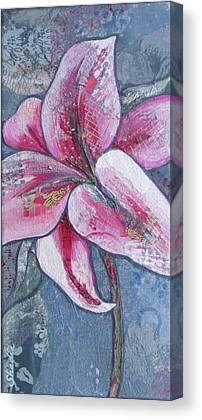 Stargazer Lilies Canvas Prints