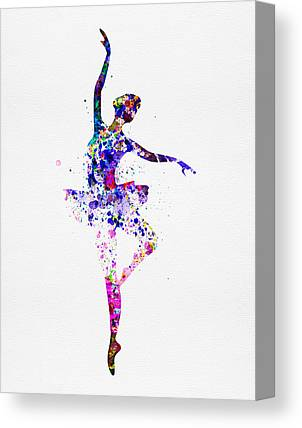 Glamour Girl Canvas Prints