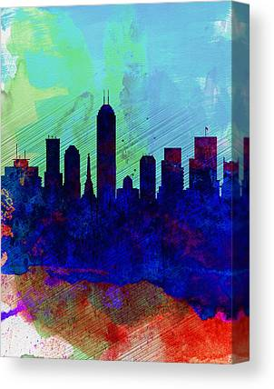 Indiana Landscapes Paintings Canvas Prints