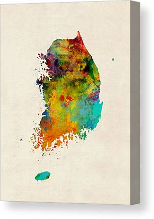 South Korea Canvas Prints