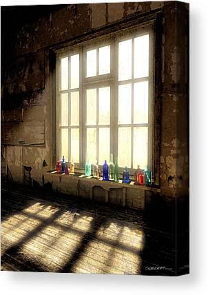 Windowpane Canvas Prints