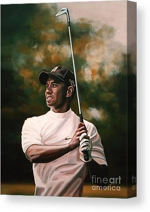 Tiger Woods Canvas Prints