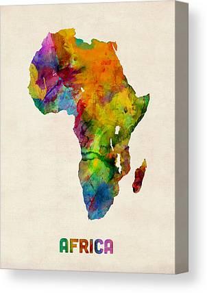 Nigeria Canvas Prints