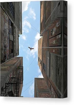 Mechanics Digital Art Canvas Prints