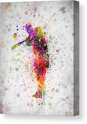Softball Canvas Prints