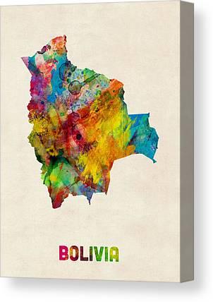 Bolivian Canvas Prints