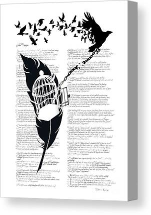 Bird Cages Canvas Prints