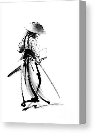Kendo Canvas Prints