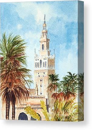 Catedral De Sevilla Canvas Prints