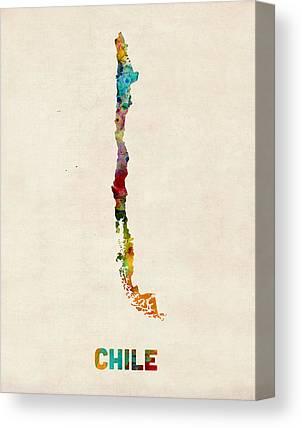 Chilean Canvas Prints
