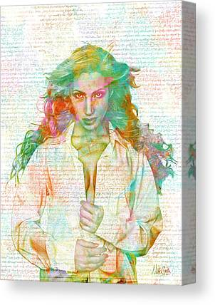 Boudoir Digital Art Canvas Prints