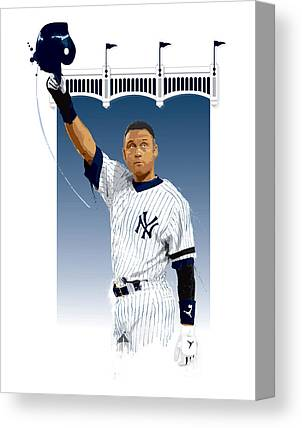 Mlb Digital Art Canvas Prints
