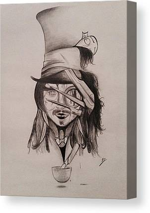 Johnny Depp Canvas Prints