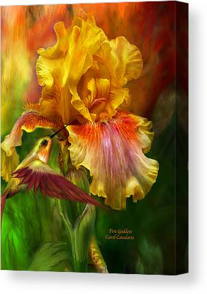Iris Canvas Prints