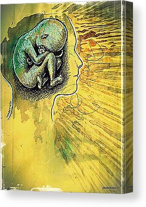 Gestation Of Ideas Canvas Prints